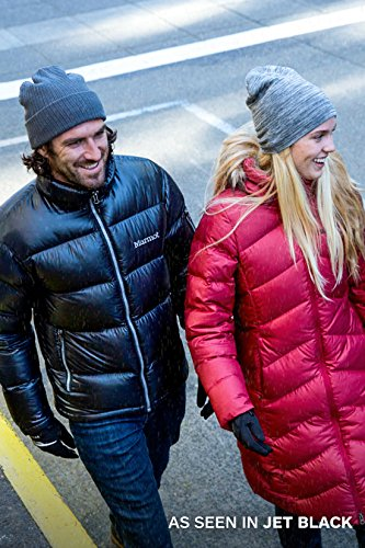 Marmot Men's Stockholm Down Puffer Jacket, Fill Power 700, Jet Black, Medium
