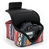 USA GEAR Custodia per Fotocamera Digitale DSLR - Custodia per Fotocamera SLR con Protezion...