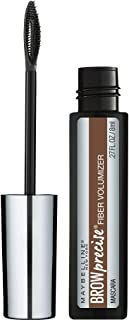 Maybelline Brow Precise Fiber Volumizer Eyebrow Mascara, Soft Brown, 0.27 fl. oz.