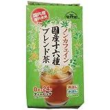 健茶館 国内産 ノンカフェイン 十六種ブレンド茶 ティーバッグ 24パック入 192g