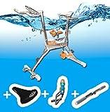 aquabike WR3+selle confort+Barre Multi training+gourde