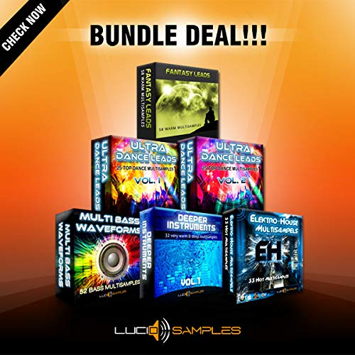 Multi Synth Sounds Bundle - Huge Collection of Quality Synth Sounds | DVD non Box