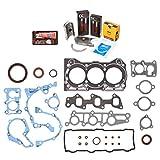 Evergreen Engine Rering Kit FSBRR8006\0\0\0 Fits 89-00 Chevrolet GEO Metro 1.0 SOHC G10 Full Gasket Set,...