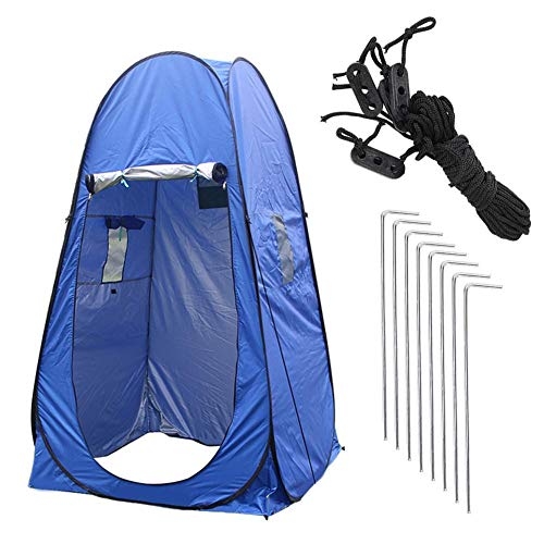 Pop Up Toilet Tent Changing Tent Camping Changing Tent Outdoor Sun Shelter Camp Toilet Changing Room for Toilet Camping Biking Beach Easy Setup Foldable with Carry Bag