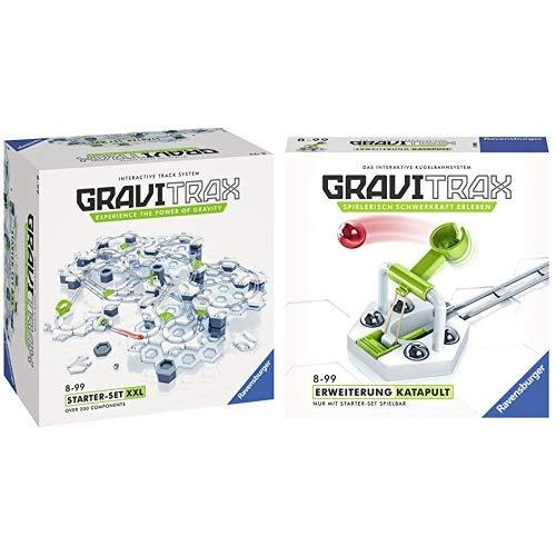 GraviTrax 27615 Starter Set XXL Konstruktionsspielzeug, mehrfarbig & 27591 Katapult Konstruktionsspielzeug