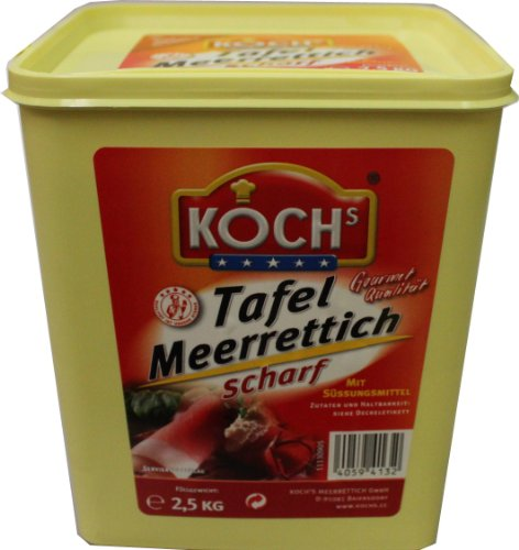 KOCHs Meerrettich Tafelfertig 2,5kg