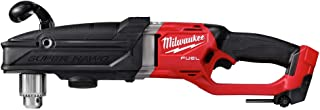 Milwaukee 2809-20 M18 FUEL 18-Volt Lithium-Ion Brushless Cordless GEN 2 Super Hawg 1/2 in. Right Angle Drill (Tool-Only)
