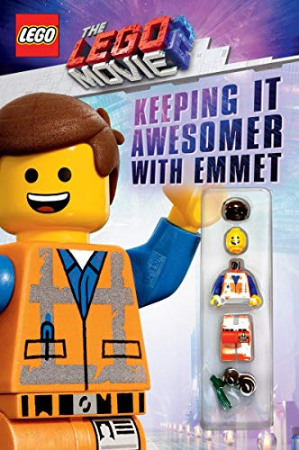 Keeping it Awesomer with Emmet (The LEGO Movie 2: Guide with Emmet Minifigure)
