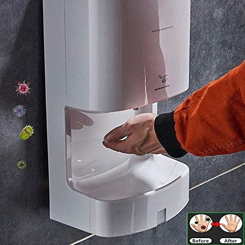 WHBQ Desinfektionsmittelspender Sensor Alcohol Mist Sprayr 2200ml Wandmontage Händedesinfektion Spender Infrared Touchless Für Küche Bad Wc Krankenhaus