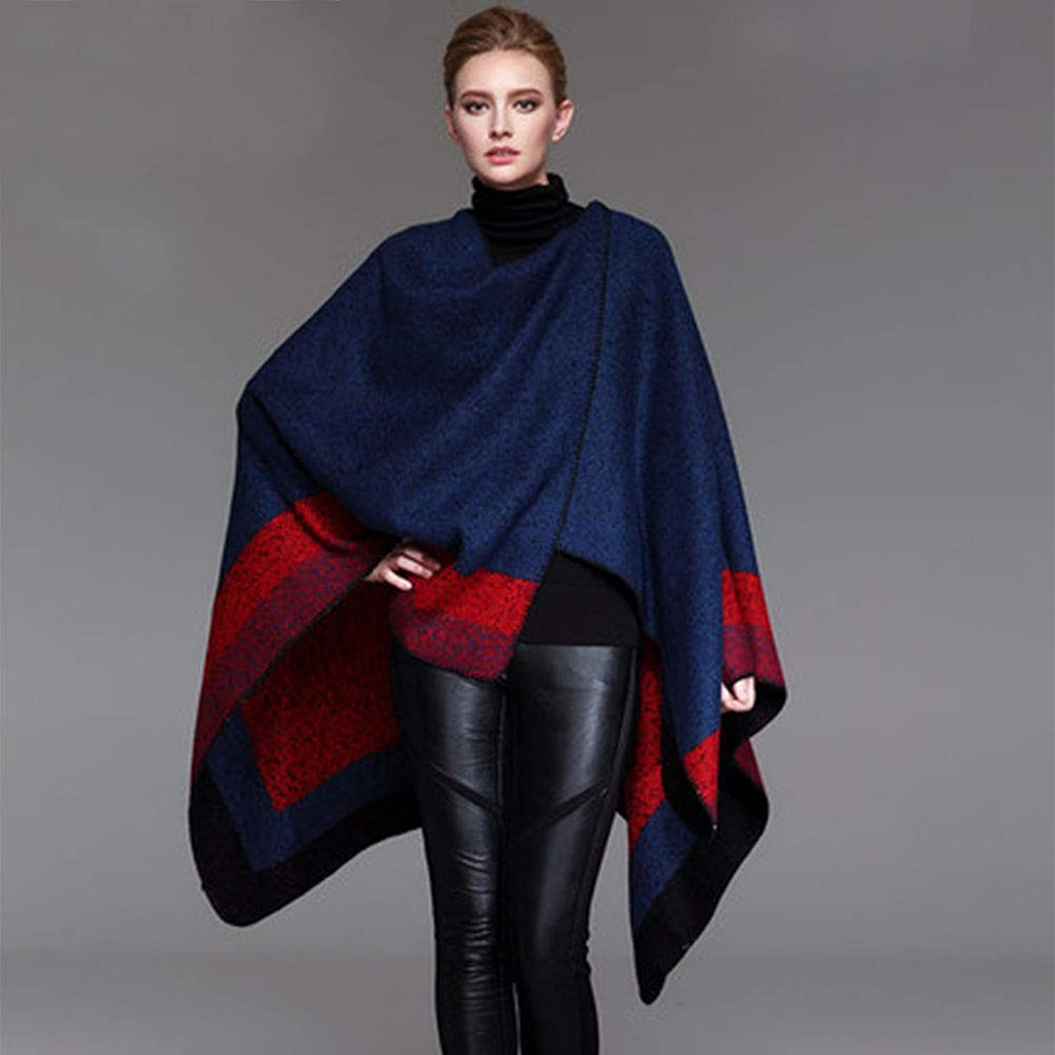 Blanket Scarf Shawl Dualuse Thickened Cloak Shawl Wrapped Big Winter Long Scarf Warm Thick Fashion Female Shawl Collar