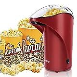vsadey machine à pop-corn, appareil à popcorn eléctrique à air chaud rapide, popcorn en bonne