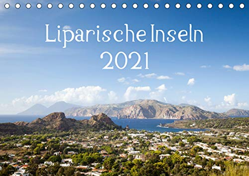Liparische Inseln (Tischkalender 2021 DIN A5 quer)