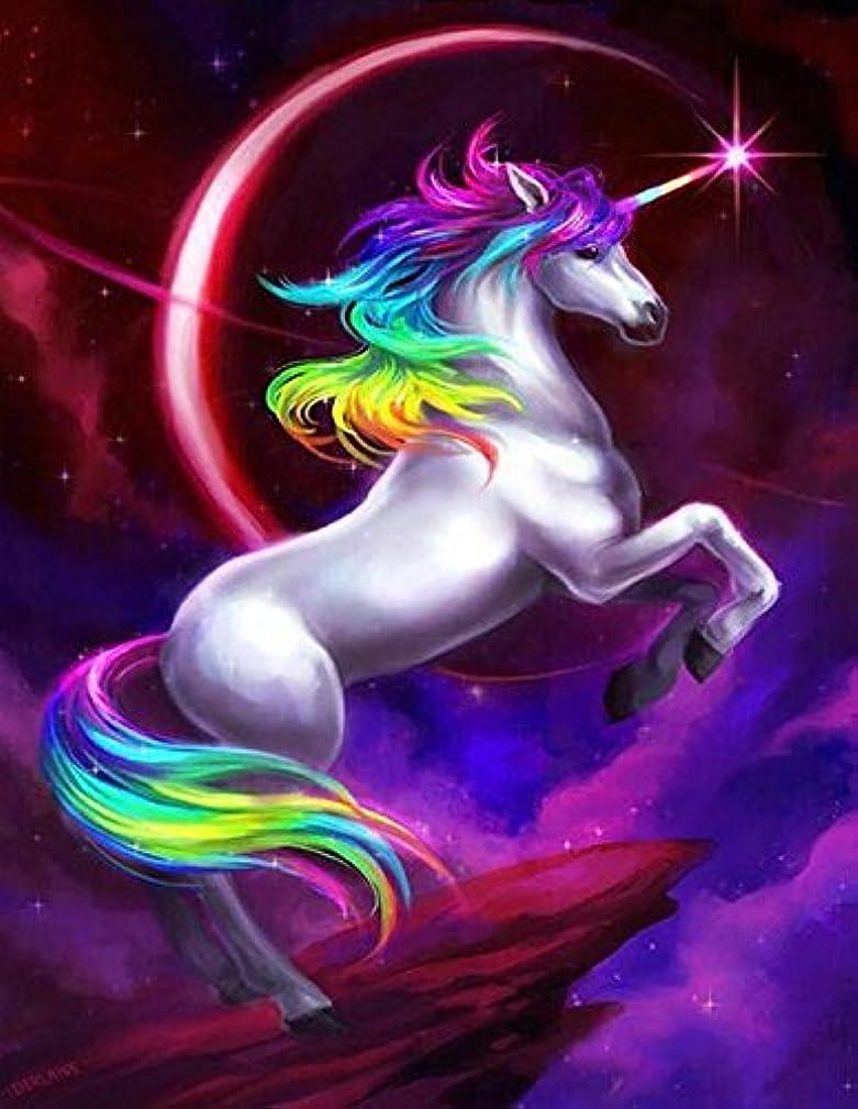 Crow's Soul 5D DIY diamond paintings diamond cross -embroidered diamond Unicorn horse universe flying starry sky color Fairy tales dreams 2020