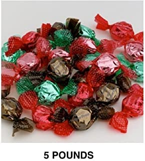 Golightly ASSORTED CHOCOLATE Hard Candy, 5 lb, Sugar Free, Individually wrapped (about