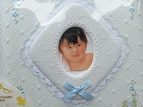 TOMMY(トミー)『ベビー名入刺繍アルバムトミーメモリアル(C070-323)』