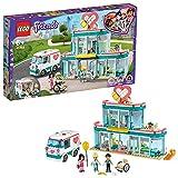 TANGLANGZ Lego 41394 Friends Heartlake City Hospital, Juguetes para Mayores de 6 años con Mini muñeca Emma y Ambulancia