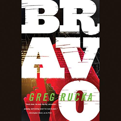 Bravo audiobook cover art