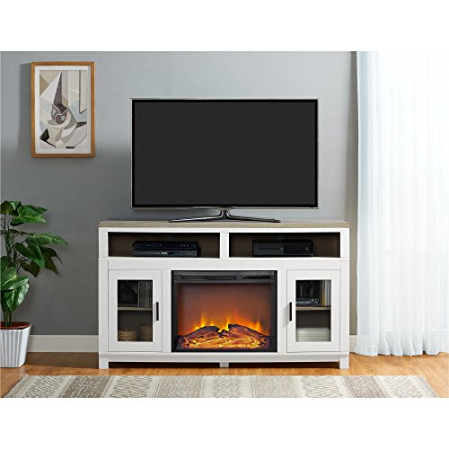 Carver Electric Fireplace TV Stand by Ameriwood