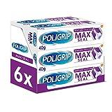 Poligrip Max Seal Adhésif pour prothèses dentaires 40 g