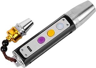 Gems Torch, Gems Identificatie Licht Sieraden Test Tool 2800 MAH met USB-oplaadkabel voor Sieraden Beoordeling