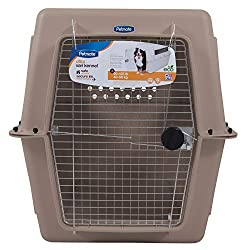 airline approved crate kennel for dogs up to 125 lbs.