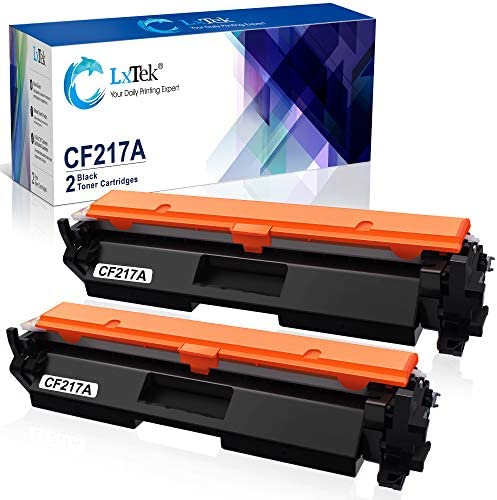 LxTek Compatible Toner Cartridge Replacement for HP 17A CF217A to use with Laserjet Pro M102w product image
