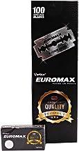 Euromax - 100 Double Edge Platinum Coated Razor Blades