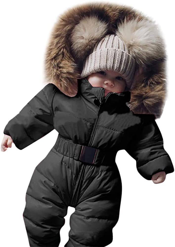 Animer and price revision Yibaision Infant Toddler Baby Girls Down R Winter Boys Mail order Snowsuits