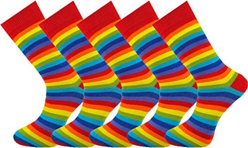 Mysocks 5 pares de calcetines tobilleros de algodón peinado