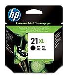 HP 21XL C9351CE, Negro, Cartucho de Tinta de Alta Capacidad Original, compatible con impresoras de inyección de tinta HP Deskjet D1530, D1560, D2360, D2460, F2290, F335, F2180, F380, F390, F4180