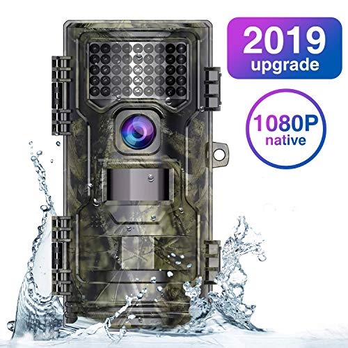 WiMiUS Wildlife Camera 20MP Native 1080P Trail Game Camera with Night...