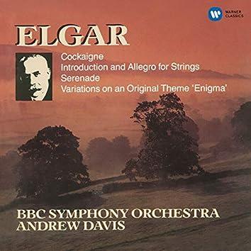 Elgar: Enigma Variations, Introduction & Allegro, Serenade for Strings & Cockaigne Overture