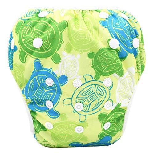 Baby Badewindelhose Schwimmwindel,COLORFUL Nette Muster Bademode Badehose Shorts für 0-24 Monate Neugeborene Kleinkind Baby Jungen Mädchen (7#)