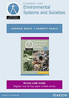 Pearson Baccalaureate Environmental Systems and Societies ebook only edition for the IB Diploma