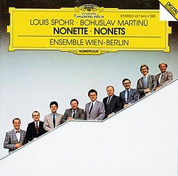 Spohr: Nonetto In F Major, Op. 31 / Martinu: Nonetto (1959)
