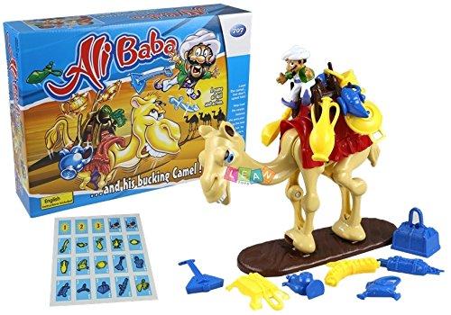 BSD Juego de Sociedad Alibaba - Juego Riflejo de Camello Pateando
