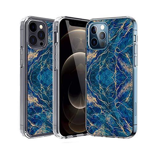 20-Danie Carcasa transparente para iPhone 12 Pro, funda protectora transparente de silicona TPU resistente a los arañazos para iPhone 12 Pro 7 L