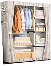 خزانة ملابس قماش ابيض