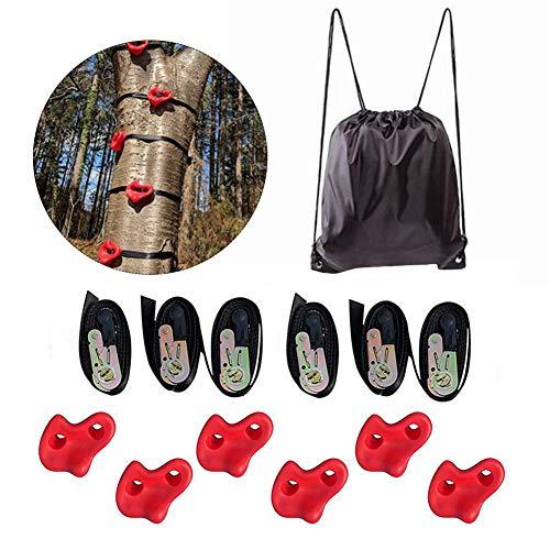 learnarmy Klettergriffe Kinder Set Outdoor, Indoor Klettersteine für Kletterwand, Klettersteine Fitness Sport Fun Toy Kletterhilfen für Kinder