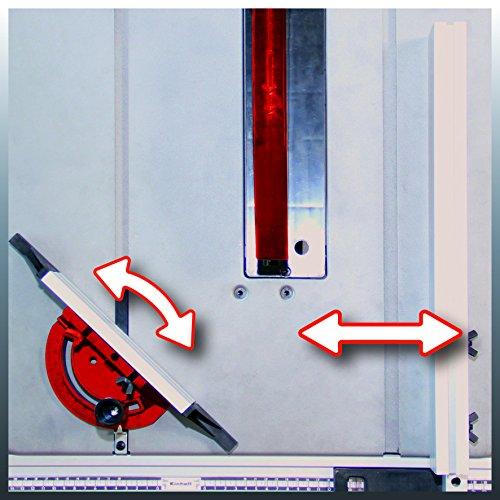 Einhell Tischkreissäge TC-TS 2025/1 U (2000 W, Sägeblatt Ø 250 x Ø 30 mm, max. Schnitthöhe 85 mm, Tischgröße 640×487 mm) - 2