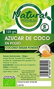 Natura Premium Azúcar de Coco Bio 125 gR. ECOLOGICO
