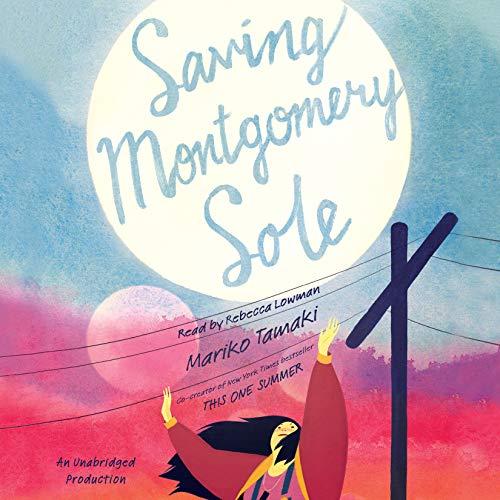 Saving Montgomery Sole audiobook cover art