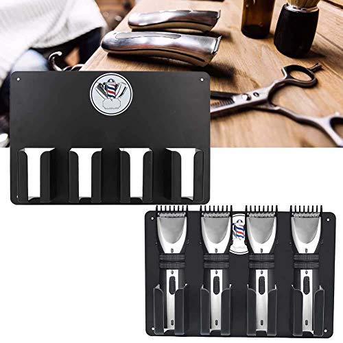 Tondeuse-houder, kappersstation elektrische tondeuse-herenkapper, verwerkt in een opslag-frame, salon-accessoires aan de muur bevestigde kappers-tondeuse.