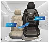 Fundas de asiento compatibles con Mercedes Vito Viano W639, conductor y pasajero, número de color: PS808
