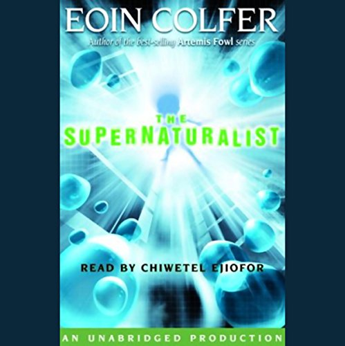The Supernaturalist audiobook cover art