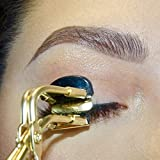 CJP Beauty Eyelash Curler - Made With Medical Grade Stainless Steel With Premium Gold Plating | Perfect For Long Lasting Gorgeous Curl