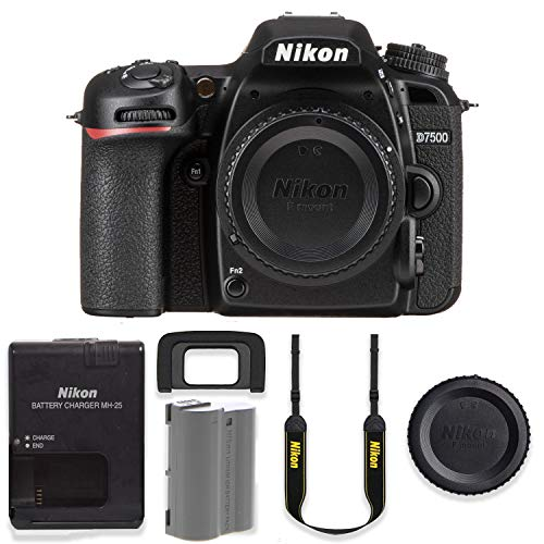 Nikon D7500 20.9MP DSLR Body Only Basic Camera Kit