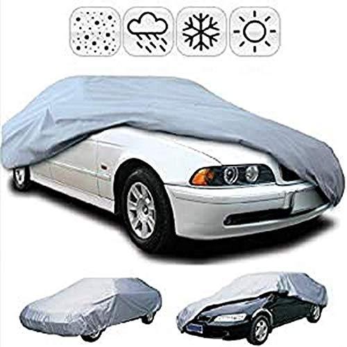 DOBO®Telo Impermeabile Automobile Copri Auto Anti Pioggia Protezione copriauto Acqua Sole Ghiaccio Misura Selezionabile Auto (M)