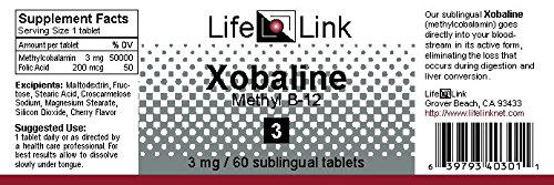 Xobaline 3mg LifeLink 60 Tabs