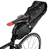 ROSWHEEL 自転車サドルバッグ 大容量 全防水 リアバッグ